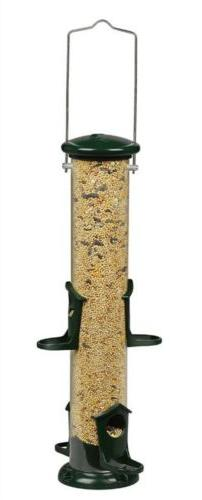 Woodlink NATUBE2 Audubon Seed Tube Feeder, Green, 2 Pound