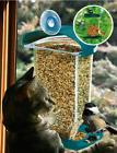 New Outside Bird Feeder For Small Birds Only With Suction Cu