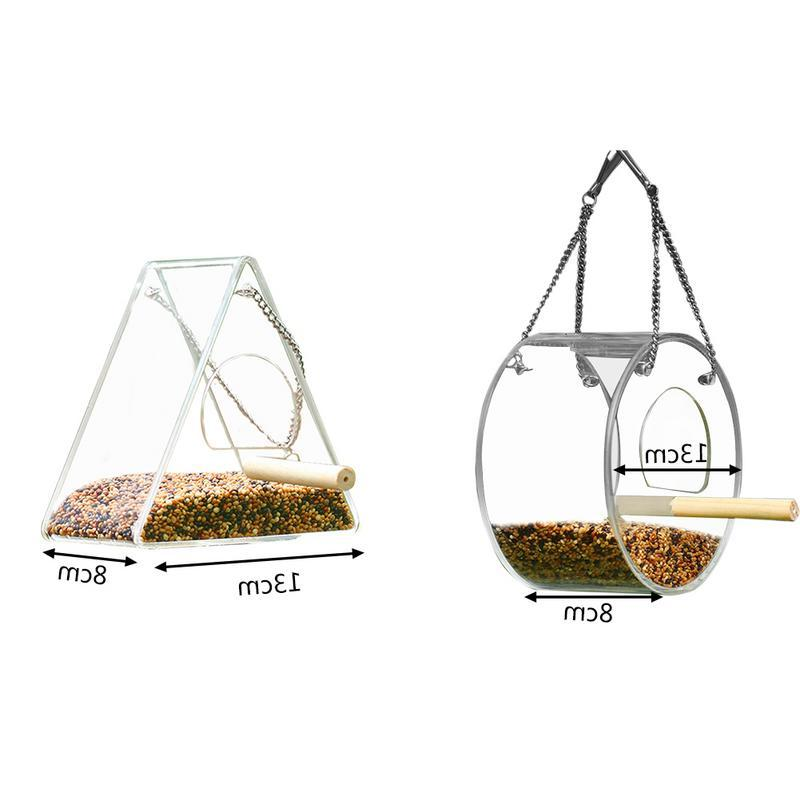 Newest <font><b>Bird</b></font> Food Box <font><b>Feeder</b></font> Stand Feeding Supplies Box Outdoor