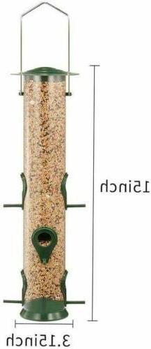 Outdoor Garden Bird Feeder Ports, Plastic, 2