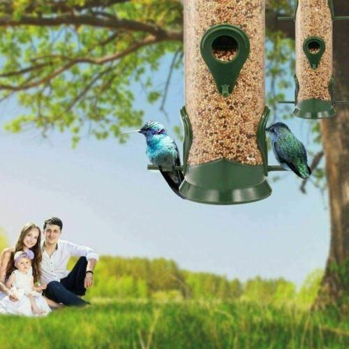 Outdoor Garden Bird Feeder Ports, Pack - New