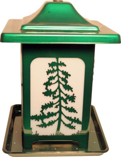 pack of 2 the woodland pines frosted