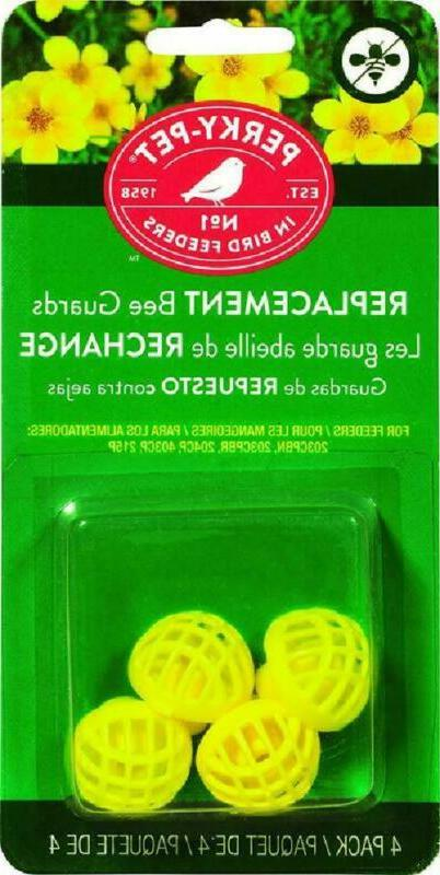 Perky Pet 205Y Yellow Replacement Bee Guards For Nectar Humm