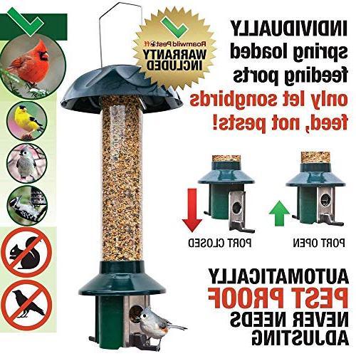 "Roamwild Wild Feeder Seed - SEED CAPACITY 20.5""x7.5""x7.5"""