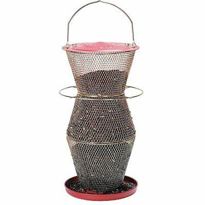 red brass 3 tier feeder