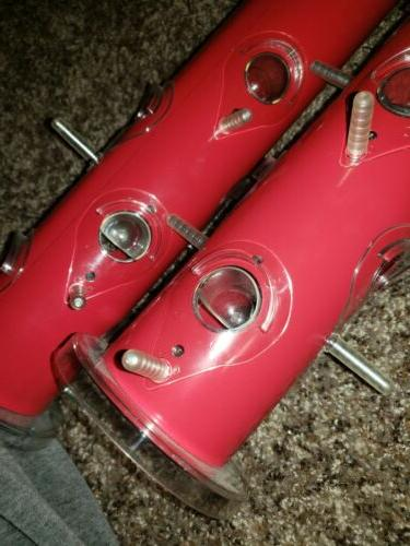RED TUBE FEEDER LARGE SZ. BRAND NE WITH TAGS OF