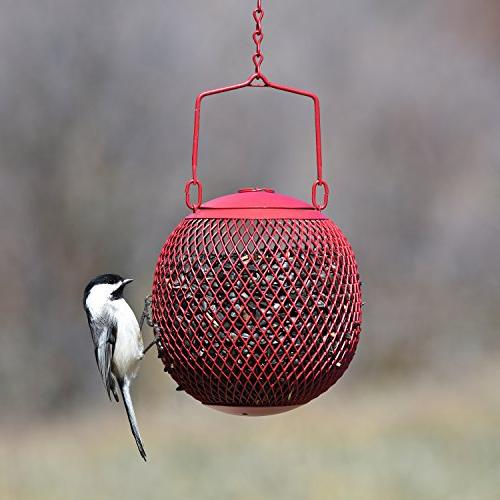 Perky-Pet Red Seed Ball Bird