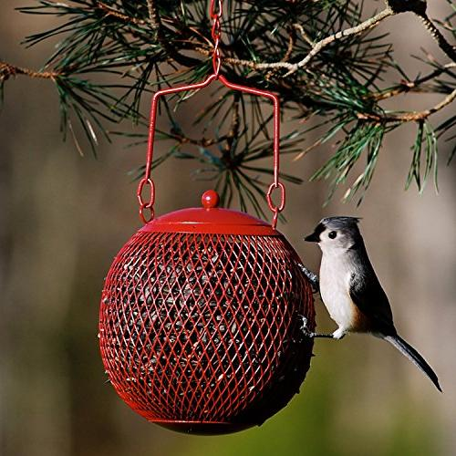 Perky-Pet RSB00343 Red Ball Wild Feeder