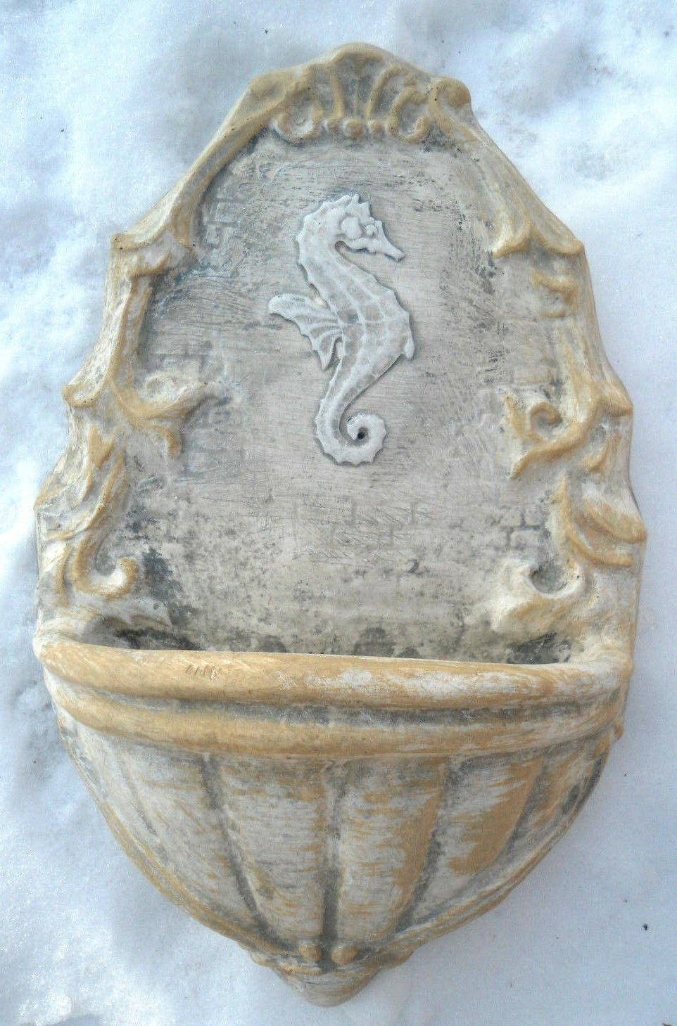 Seahorse feeder mold casting mould