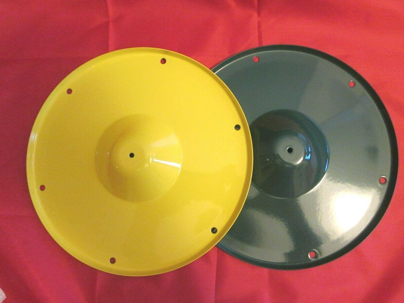 Seed tray, Add-on, Tube Style Bird Feeder, Green or Yellow