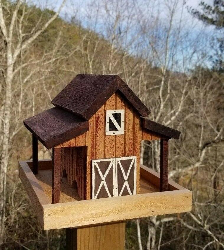 Small Old Barn Bird Solid Wood
