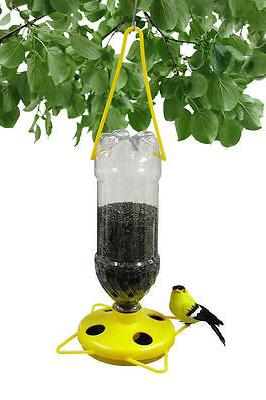 Gadjit Soda Bottle Wild Thistle Bird Feeder Kits  Pack of 2