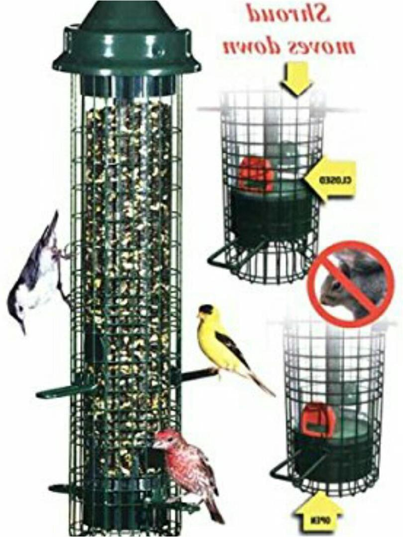 BROME SQUIRREL BUSTER SQUIRREL PROOF BIRD 1015 HOLDS QUARTS