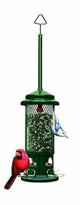 Squirrel Buster Standard Squirrel-proof Bird Feeder w/4 Meta