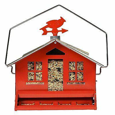 squirrel proof wild bird feeder