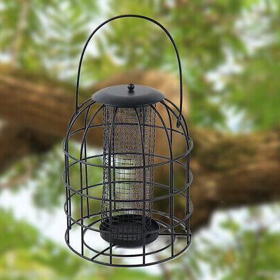 squirrel resistant parakeet pet supplies bird feeder