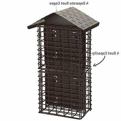 Stokes Suet Feeder, Buffet with Weather Roof