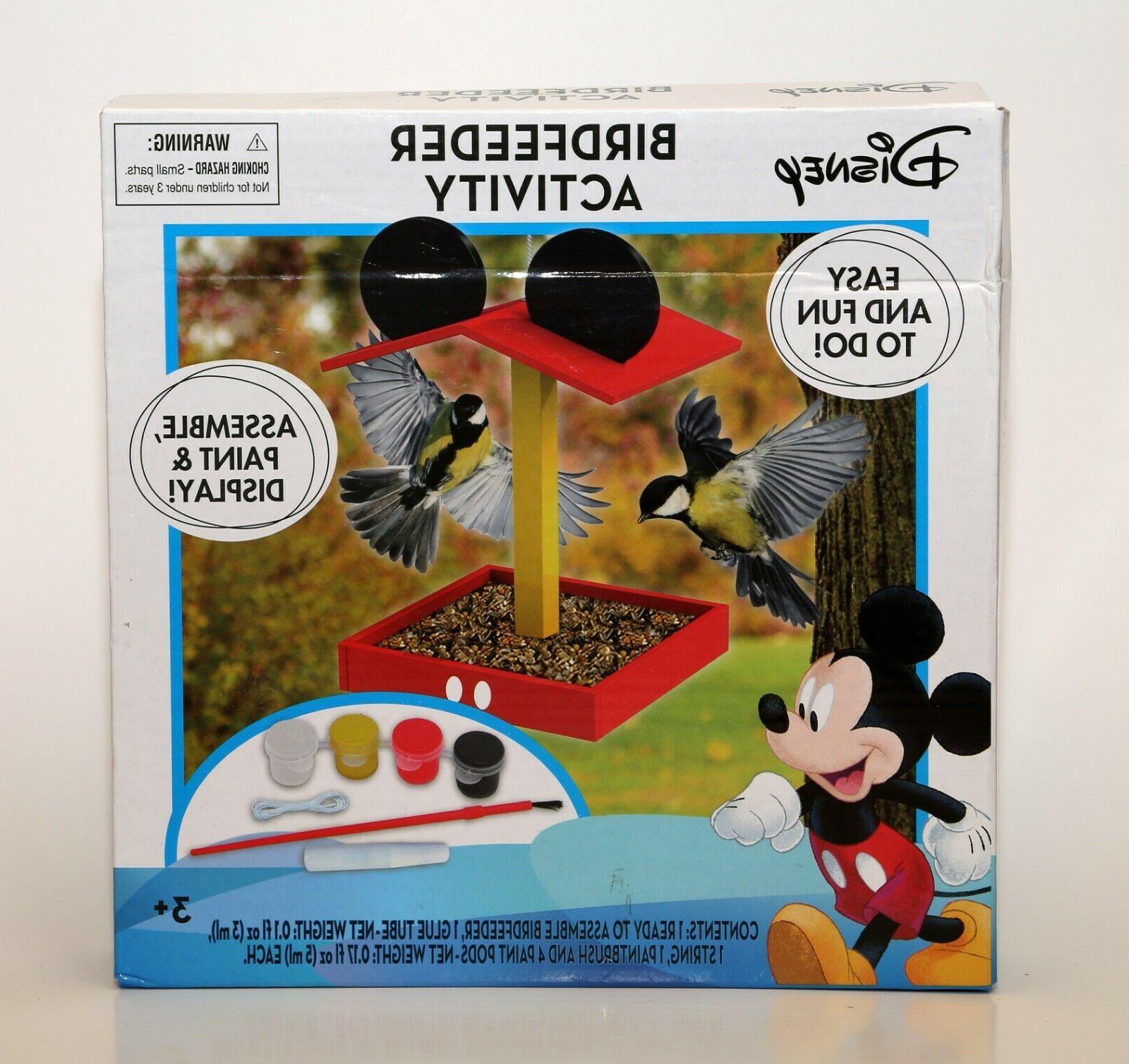 tara toy corp mickey mouse birdfeeder activity