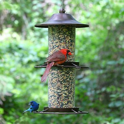 Two Level Bird Feeder Outdoor Garden Home Decor
