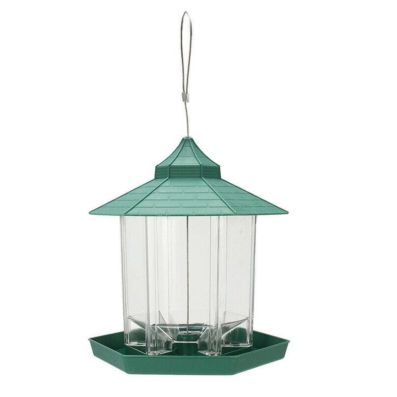US Waterproof Hanging Bird Feeder Outdoor For
