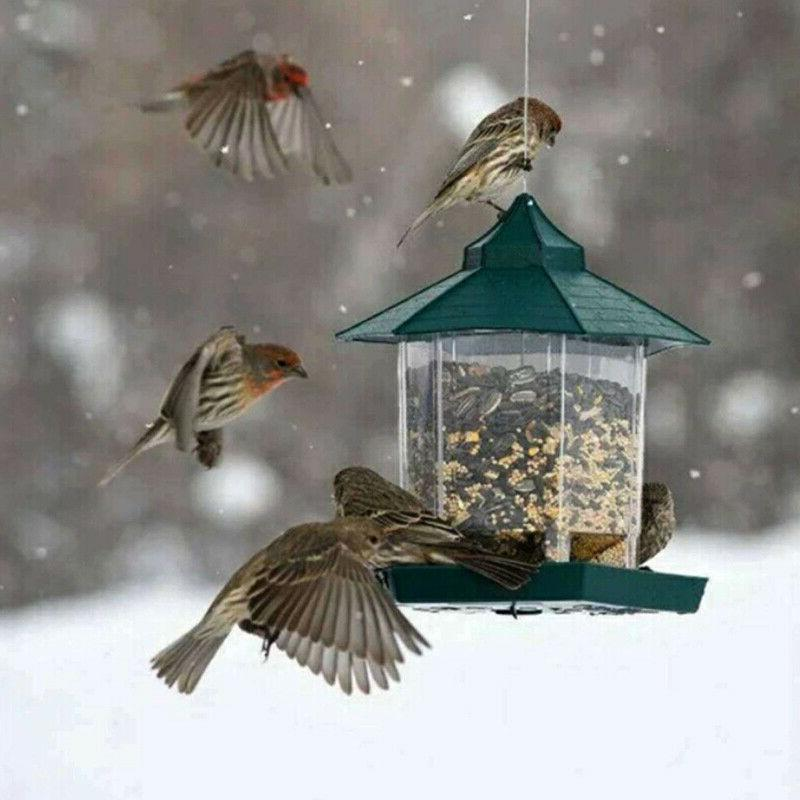 US Bird Feeder Outdoor Feeding For Garden
