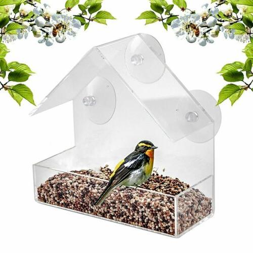 US Feeder Wild Hanging Perspex Clear Viewing Tool