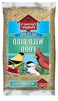 Wagner's 53002 Farmer's Delight Wild Bird Food With Cherry F