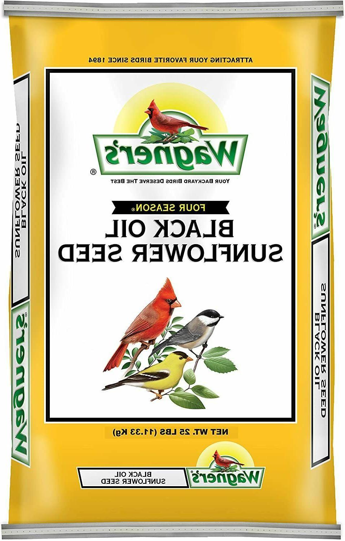 wagner s 76027 black oil sunflower seed