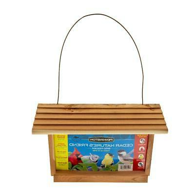 Wild Bird Feeder 3 Lbs Capacity Pennington Cedar Hanging Fee