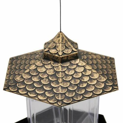 Wild Bird for Decor Hexagon Roof