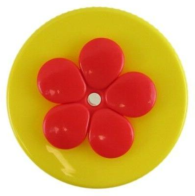 Feeder Yellow and Red WD-1, 2 Large DOTS