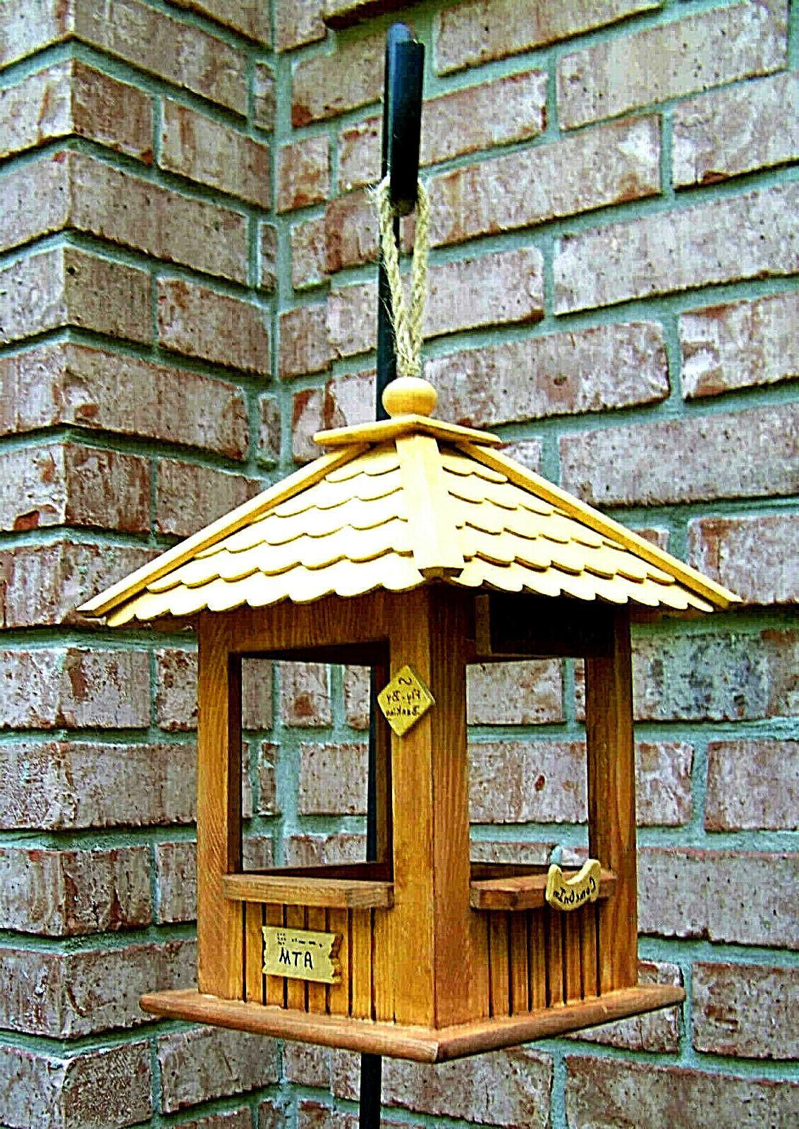 Wood Feeder Birdie
