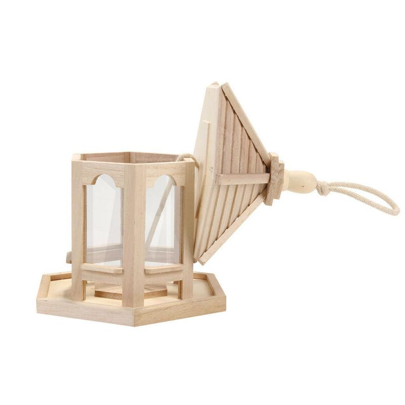 Wooden Feeder Hexagon for P