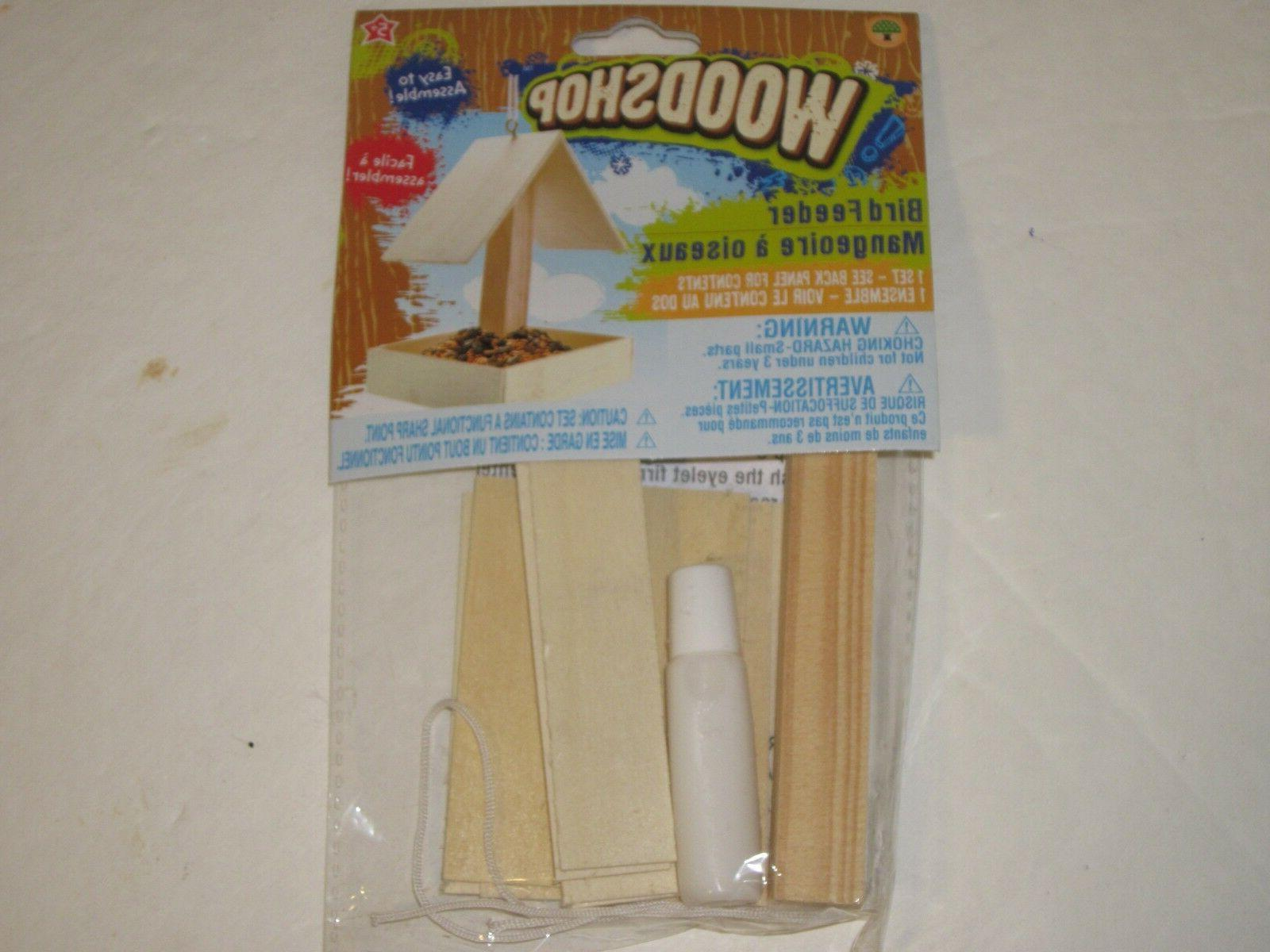 Wooden Birdhouse or Feeder Kit A Real or
