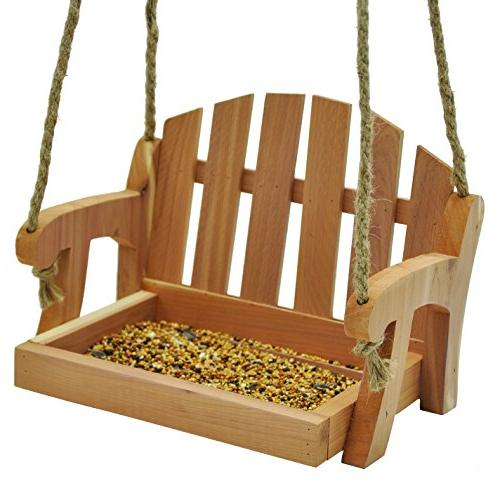 Gardirect Wooden Bird Tray