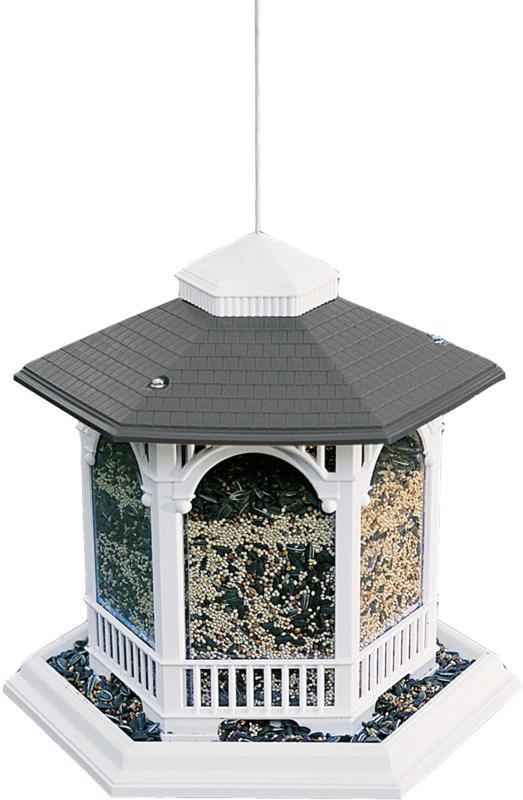 Woodlink Na6262 Audubon Hopper Deluxe Gazebo Wild Bird Feede