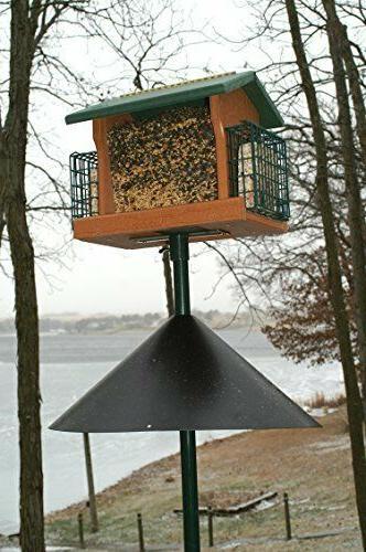 Woodlink Squirrel Baffle 18 Inch Proof Bird Feeder Guard Aud