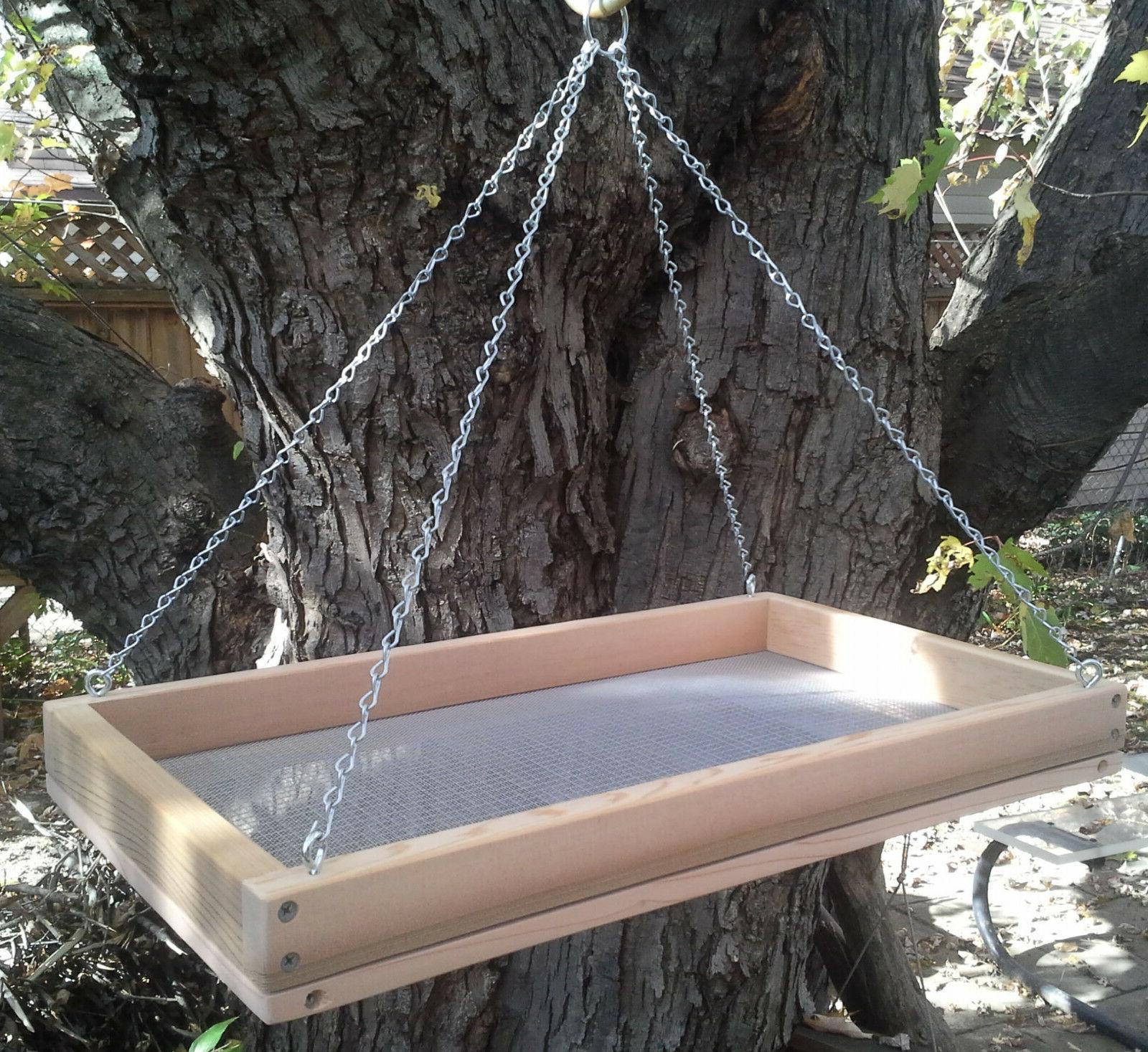 x large 20 cedar platform screen bird
