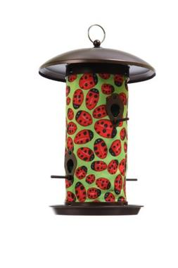 Toland Home Garden Ladybugs 14.5 x 9.5-Inch Decorative 4-Por
