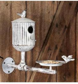 Large Classic Farmhouse Rook's Roost Bird Feeder and Birdhou
