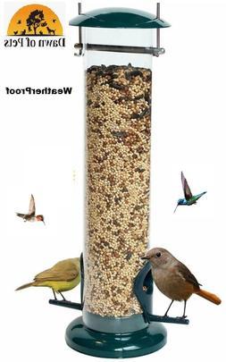 Dawn of Pets - Long Tube Bird Feeder - Squirrel-Proof - Gard