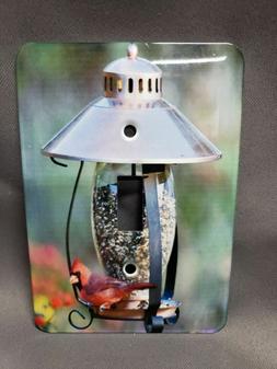 3dRose lsp_208643_1 Northern Cardinal Lantern Hopper Bird Fe