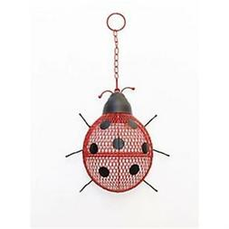 mesh lady bug bird feeder