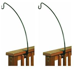 Stokes Select 24-Inch Metal Clamp-On Deck Hook for Bird Feed