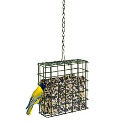 METAL SUET FEEDER Basket With Chain Hanger Cage Hanging One