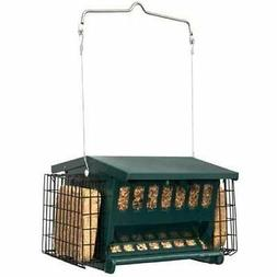 HERITAGE FARMS MINI SEEDS N MORE BIRD FEEDER SQUIRREL PROOF