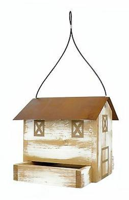 Nature's Way Bird Products DF3 Rustic Barn Hopper Feeder