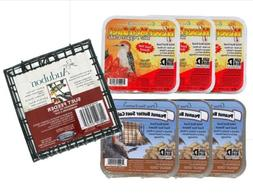 Pine Tree Farms Never Melt Suet Variety 6 Pack with Hanging
