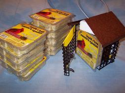 NEW Stokes Select Double Suet Bird Feeder 38070 Metal Roof 1