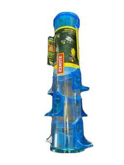 new jumbo tube bird feeder blue 18